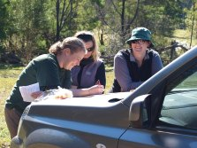 Planning our route (image from www.nswrogaining.org)